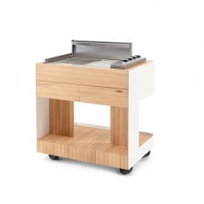 INTAS grillipöytä, Valkoinen